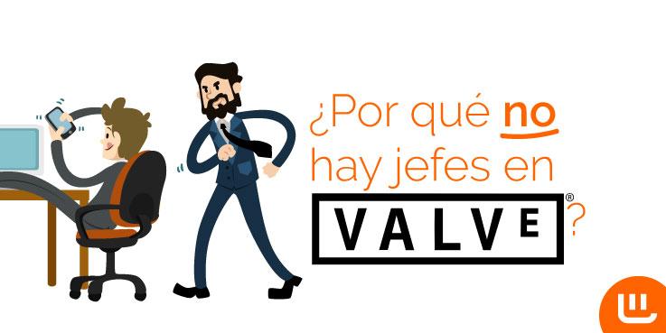 ¿Por qué no hay jefes en Valve Software?